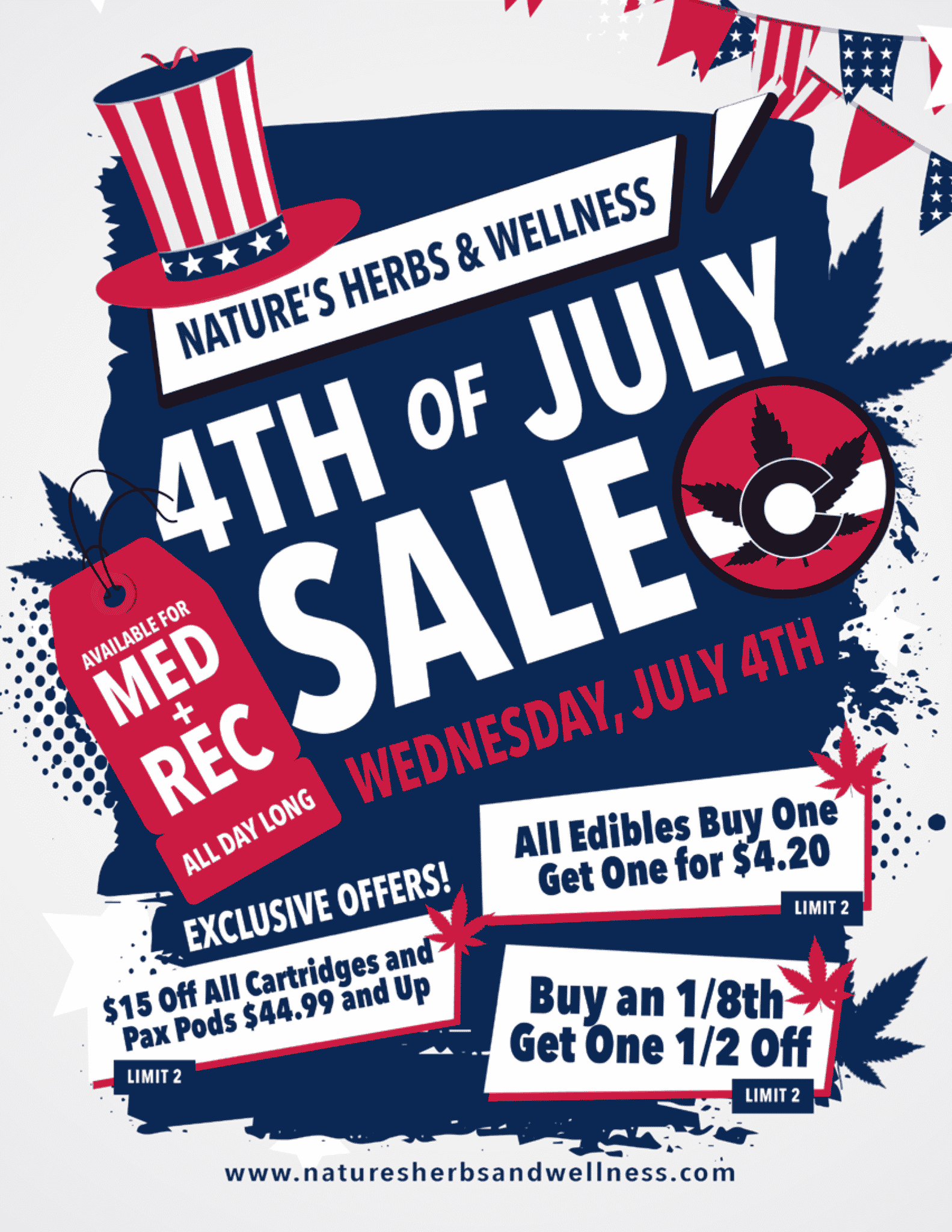 4th Of July Specials 2018
