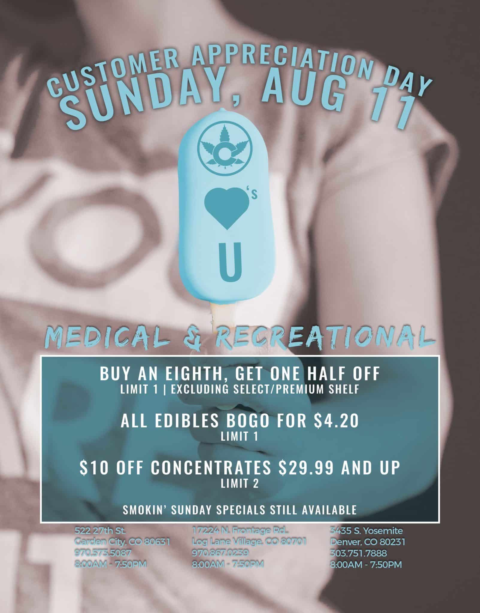 Nature's Herbs and Wellness Customer Appreciation Sale | Sunday, August 11 2019