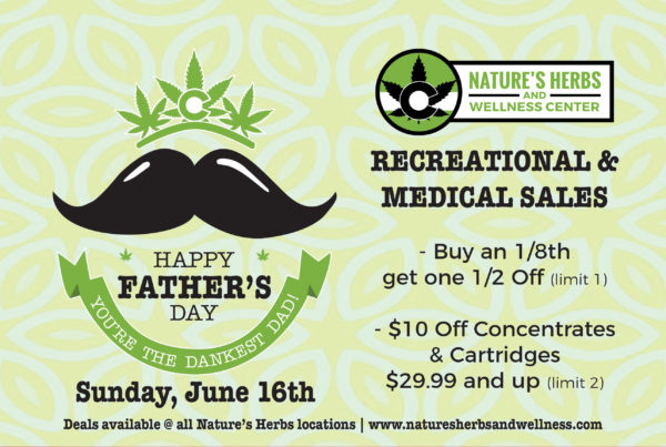 Nature's Herbs and Wellness | Father's Day Sales 2019