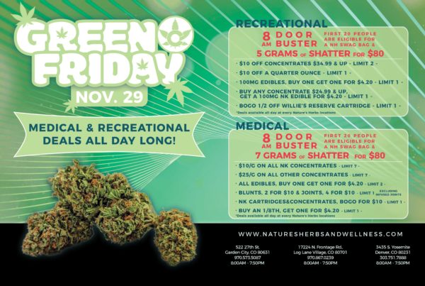 Nature's Herbs and Wellness   Green Friday Sale