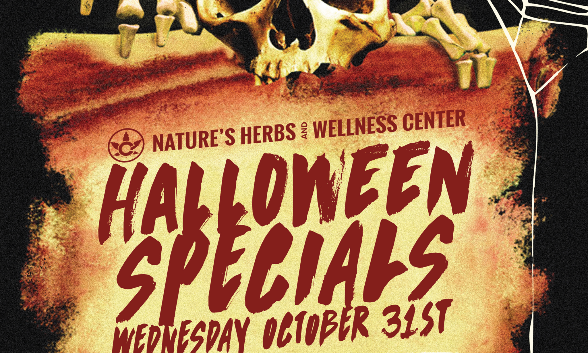 Nature's Herbs Halloween Specials