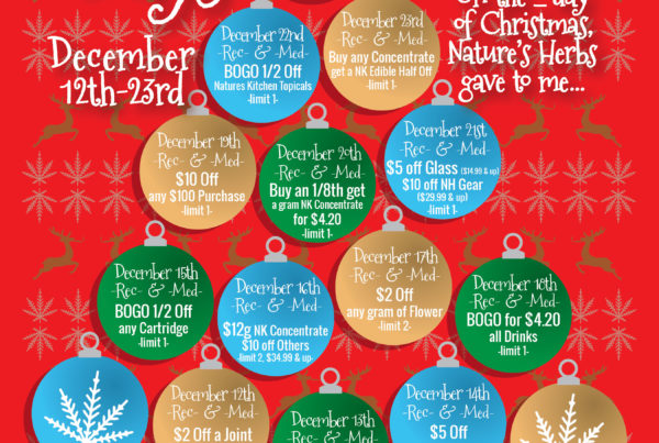 Nature's Herbs 12 Days Of Christmas Sales