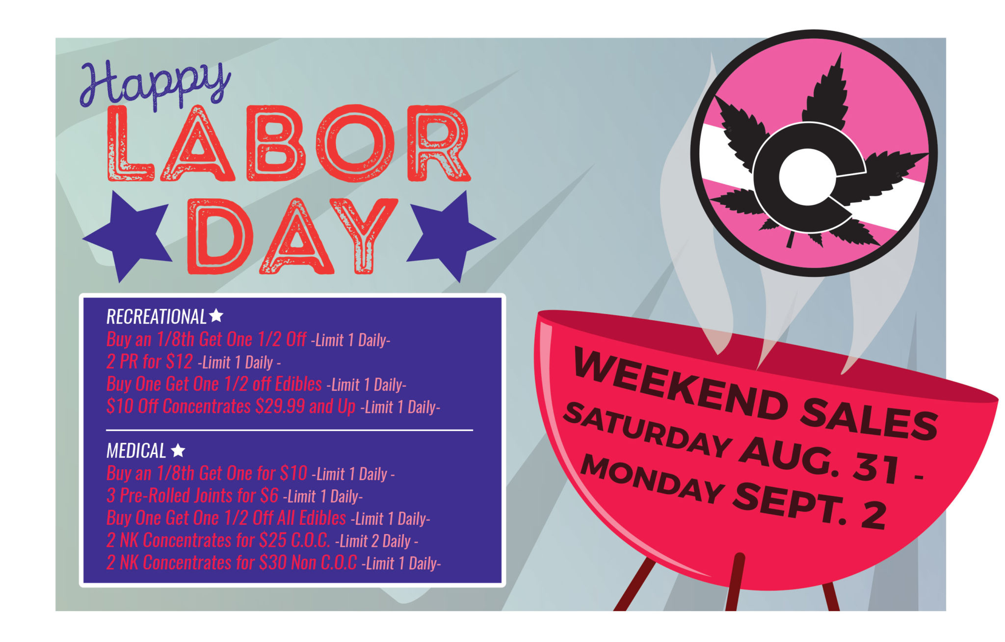 Labor Day Weekend – September 2019