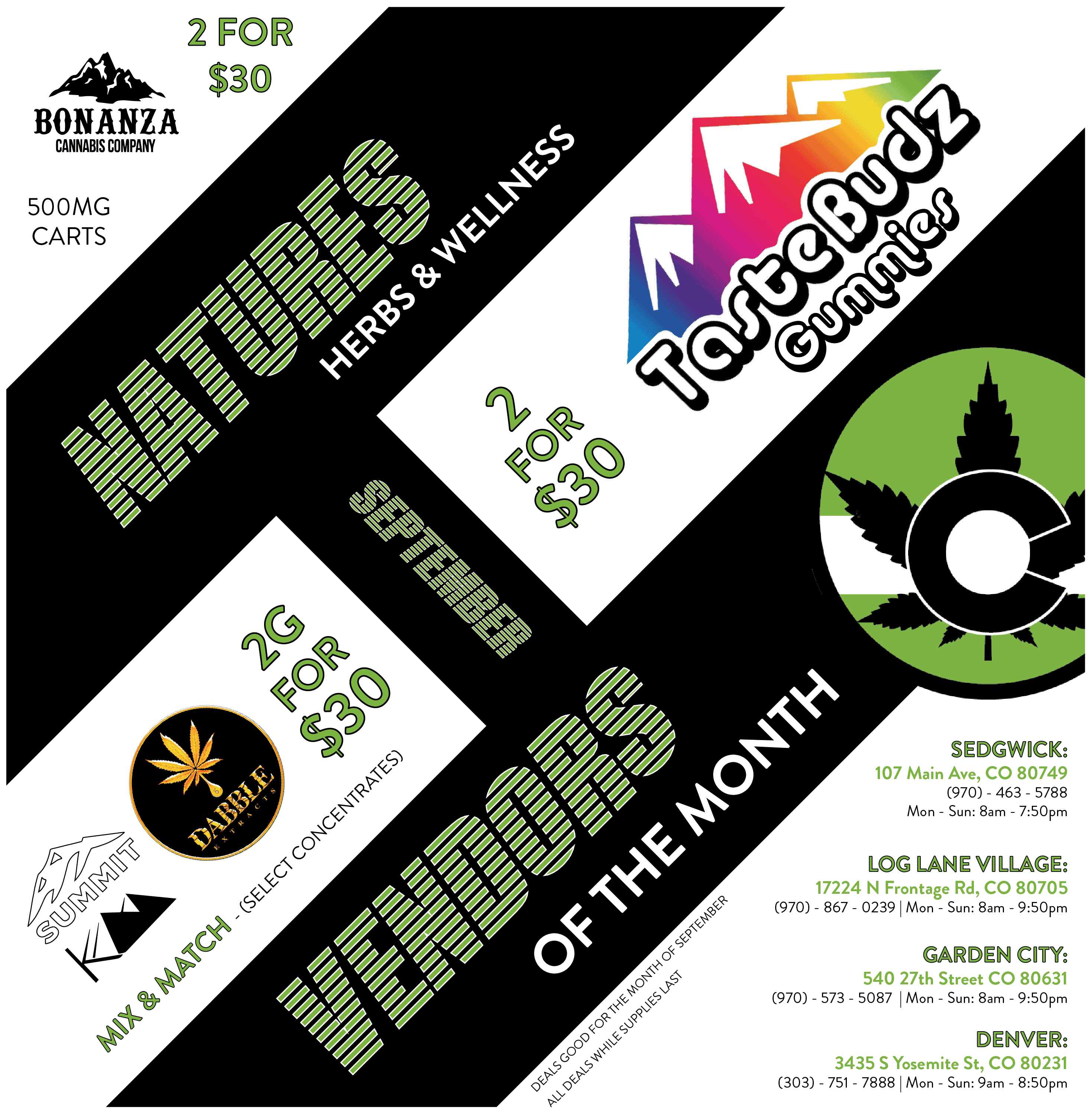 September Vendors of The Month - Nature's Herbs and Wellness