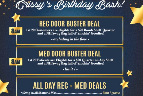Nature's Herbs and Wellness New Year's Eve Specials | Crissy's Birthday Bash