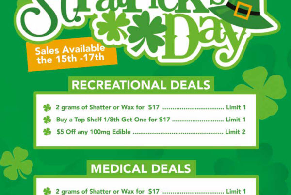 Nature's Herbs and Wellness St. Patrick's Day Deals