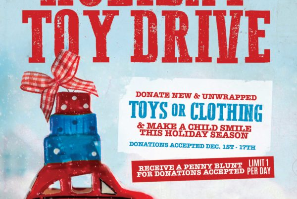 Nature's Herbs and Wellness Holiday Toy Drive