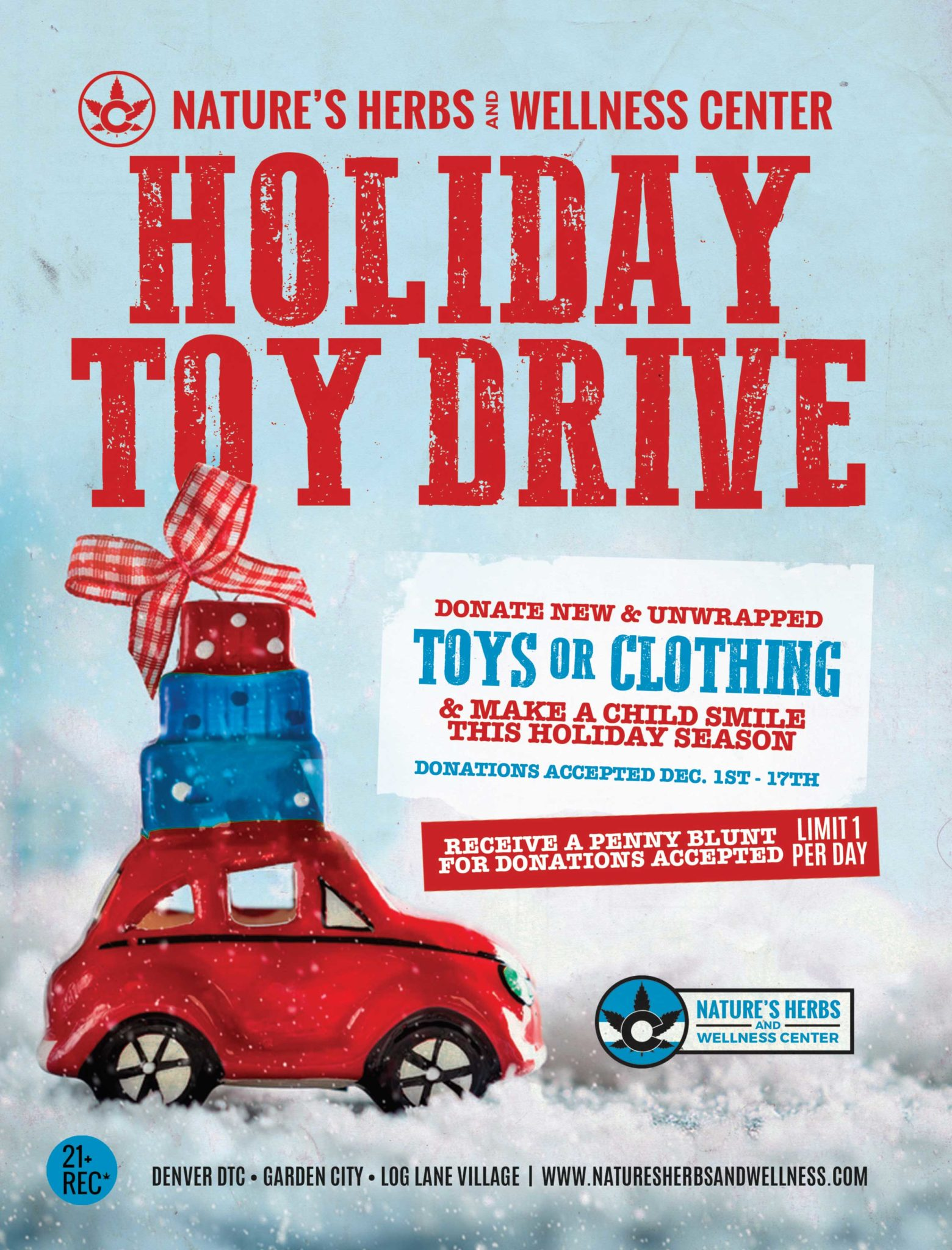 Holiday Toy Drive! – 2018