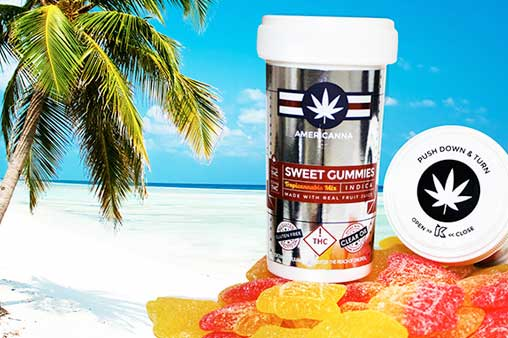 Americanna Sweet Cannabis Gummies | Nature's Herbs and Wellness
