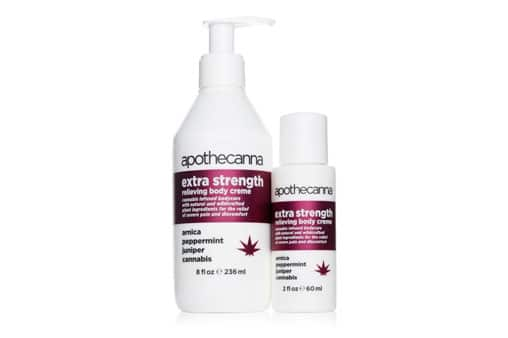 Apothecanna Body Cream | Cannabis Topical for Relaxation and Pain Relief