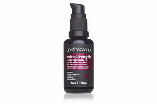 Apothecanna Extra Strength Cannbis Body Oil for Pain Relief and Relaxation