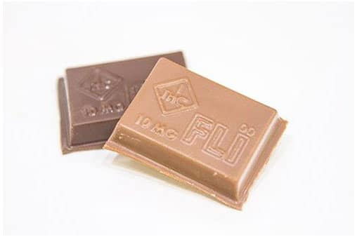 10mg Cannabis Chocolate Squares   Nature's Herbs and Wellness