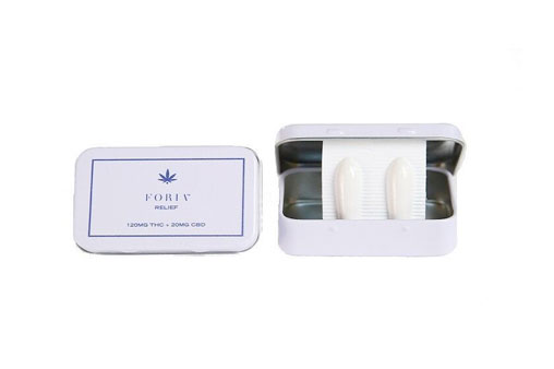 Foria Relief Suppository   Cannabis Suppository