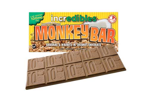 Incredibles Monkey Bar Cannabis Chocolate | Nature's Herbs and Wellness