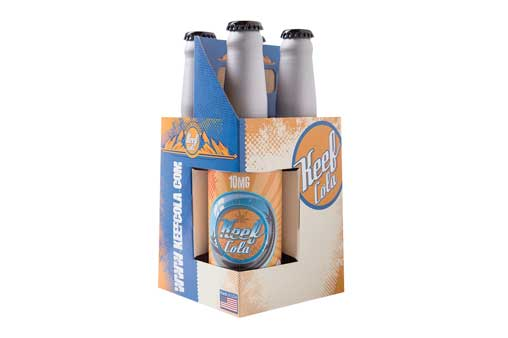 Keef Cola 4 Pack of Cannabis Soda   Nature's Herbs and Wellness