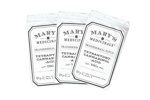 Mary's Medicinals THCa Patches | Cannabis Topicals